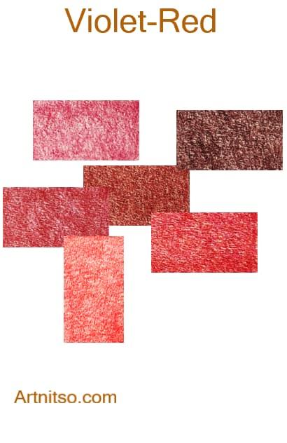 Prismacolor Premier I and II -Violet-Red - Artnitso.com