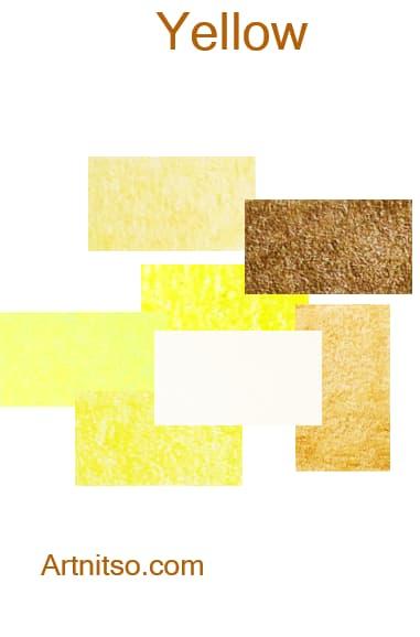 Prismacolor Premier I and II -Yellow - Artnitso.com