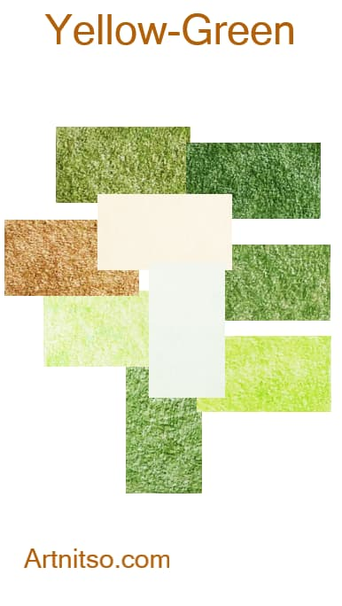 Prismacolor Premier I and II -Yellow-Green - Artnitso.com