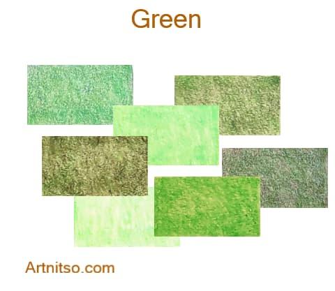 Caran d'Ache Pablo 12 144 Green - Artnitso.com