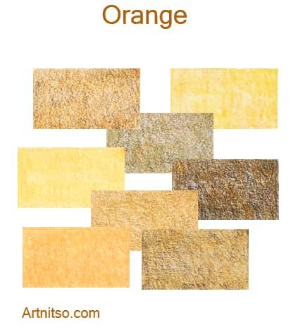 Caran d'Ache Pablo 12 144 Orange - Artnitso.com