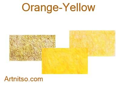 Caran d'Ache Pablo 12 144 Orange-Yellow - Artnitso.com