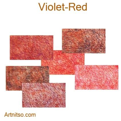Caran d'Ache Pablo 12 144 Violet-Red - Artnitso.com