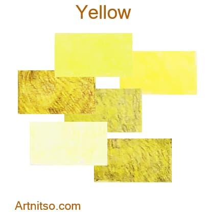Caran d'Ache Pablo 12 144 Yellow - Artnitso.com