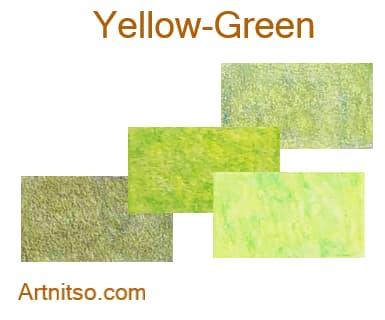 Caran d'Ache Pablo 12 144 Yellow-Green - Artnitso.com