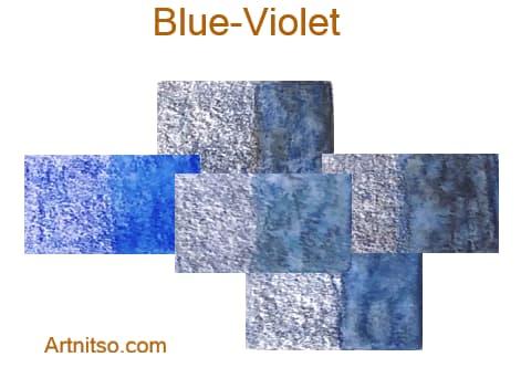 Caran d'Ache Museum 144 colours 12 set - Blue-Violet - Artnitso.com