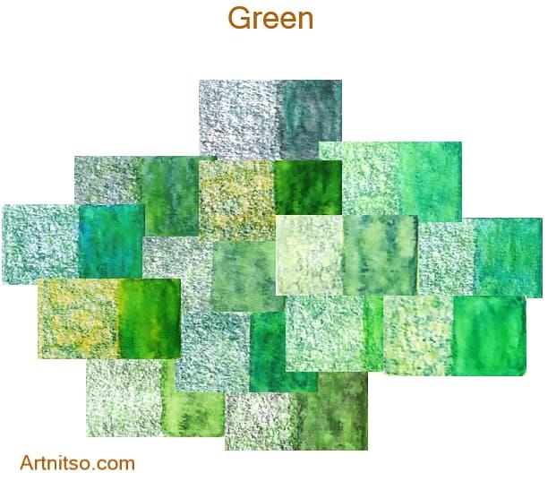Caran d'Ache Museum 144 colours 12 set - Green - Artnitso.com