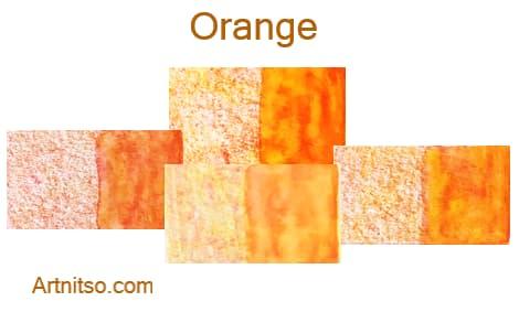 Caran d'Ache Museum 144 colours 12 set - Orange - Artnitso.com