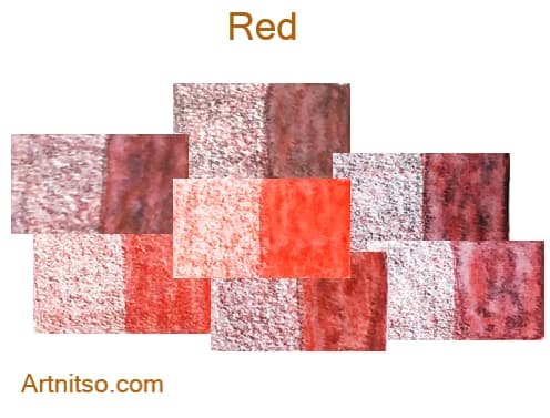 Caran d'Ache Museum 144 colours 12 set - Red - Artnitso.com