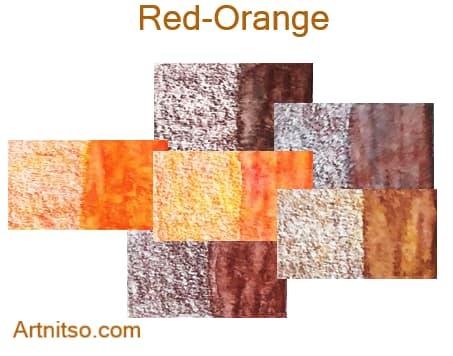 Caran d'Ache Museum 144 colours 12 set - Red-Orange - Artnitso.com
