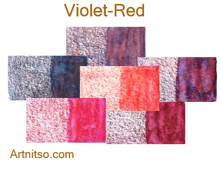 Caran d'Ache Museum 144 colours 12 set - Violet-Red - Artnitso.com