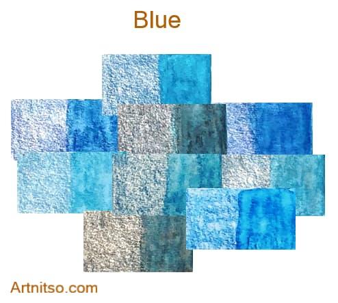 Caran d'Ache Supracolor - 144 colours 12 set - Blue - Artnitso.com
