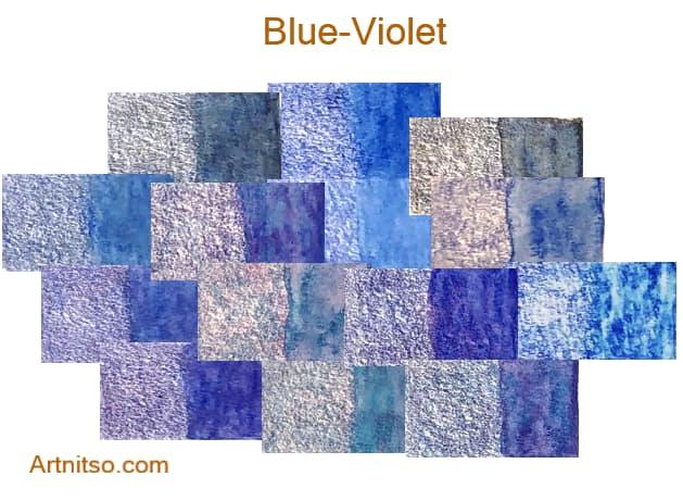 Caran d'Ache Supracolor - 144 colours 12 set - Blue-Violet - Artnitso.com