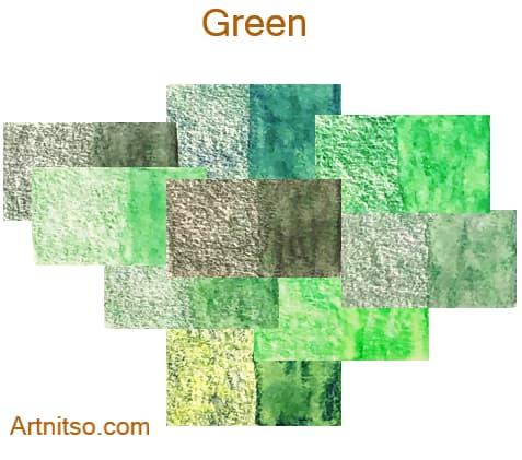Caran d'Ache Supracolor - 144 colours 12 set - Green - Artnitso.com