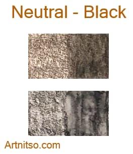 Caran d'Ache Supracolor - 144 colours 12 set - Neutral-Black - Artnitso.com