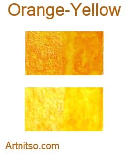 Caran d'Ache Supracolor - 144 colours 12 set - Orange-Yellow - Artnitso.com