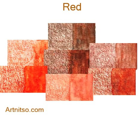 Caran d'Ache Supracolor - 144 colours 12 set - Red - Artnitso.com
