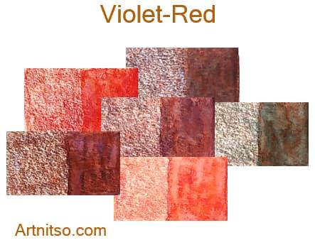 Caran d'Ache Supracolor - 144 colours 12 set - Violet-Red - Artnitso.com