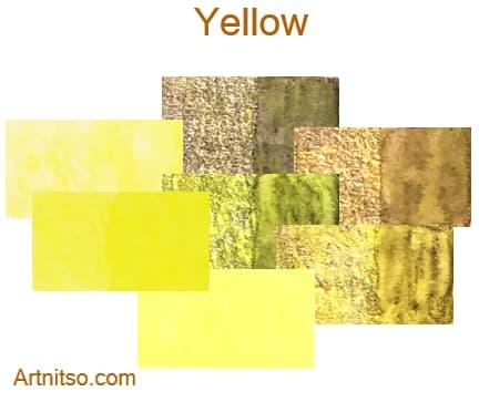 Caran d'Ache Supracolor - 144 colours 12 set - Yellow - Artnitso.com