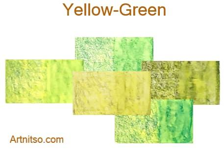 Caran d'Ache Supracolor - 144 colours 12 set - Yellow-Green - Artnitso.com