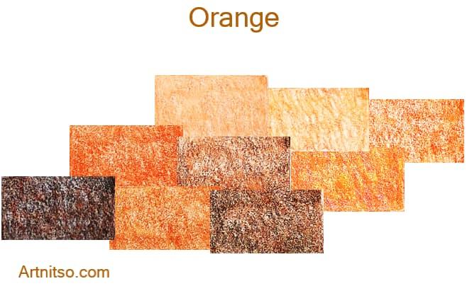 Faber Castell Polychromos set of 12 144 - Orange - Artnitso.com