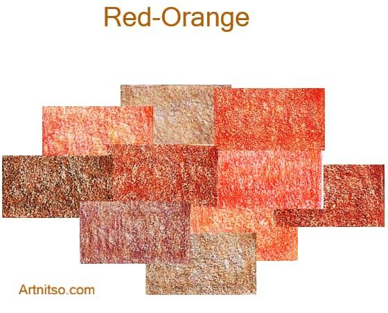 Faber Castell Polychromos set of 12 144 - Red-Orange - Artnitso.com