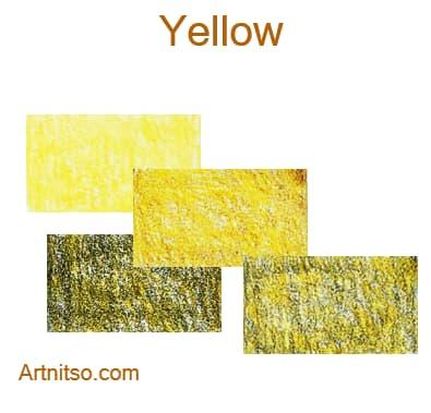 Faber Castell Polychromos set of 12 144 - Yellow - Artnitso.com