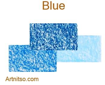 Caran d'Ache Neocolor I - Blue - Artnitso.com