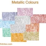 Caran d'Ache Neocolor I - Metallic Colours - Artnitso.com