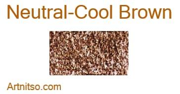 Caran d'Ache Neocolor I - Neutral-Cool Brown - Artnitso.com