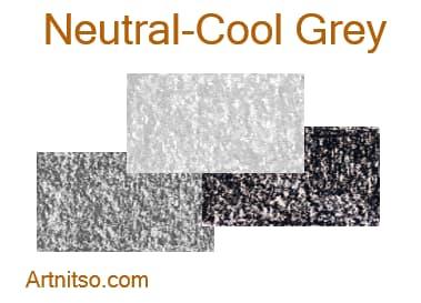 Caran d'Ache Neocolor I wax crayons - Neutral-Cool Grey - Artnitso.com