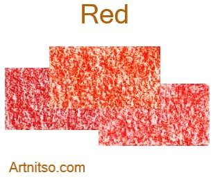 Caran d'Ache Neocolor I wax crayons - Red - Artnitso.com
