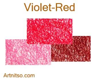 Caran d'Ache Neocolor I - Violet-Red - Artnitso.com