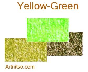 Caran d'Ache Neocolor I - Yellow-Green - Artnitso.com