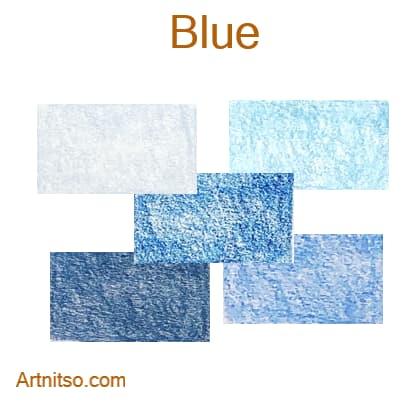 Caran d'Ache Luminance 76 - Blue - Artnitso.com