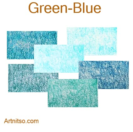 Caran d'Ache Luminance 76 - Green-Blue - Artnitso.com