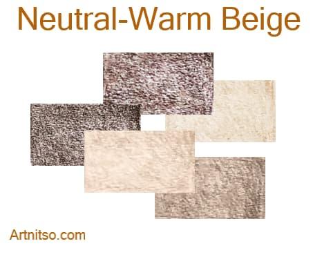 Caran d'Ache Luminance 76 - Neutral-Warm Beige - Artnitso.com