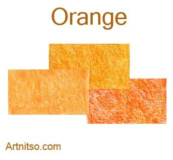 Caran d'Ache Luminance 76 - Orange - Artnitso.com
