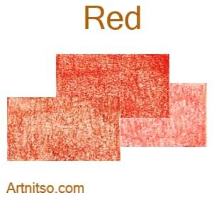 Caran d'Ache Luminance 76 coloured pencils - Red - Artnitso.com