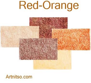 Caran d'Ache Luminance 76 coloured pencils - Red-Orange - Artnitso.com