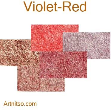 Caran d'Ache Luminance 76 - Violet-Red - Artnitso.com
