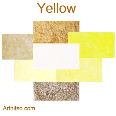 Caran d'Ache Luminance 76 coloured pencils - Yellow - Artnitso.com