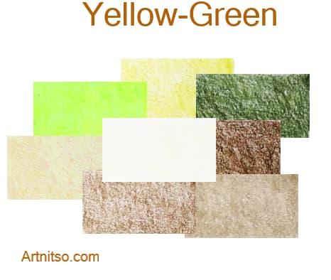 Caran d'Ache Luminance 76 - Yellow-Green - Artnitso.com