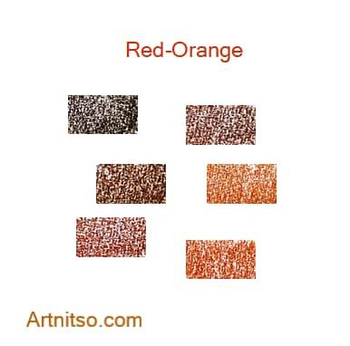 Derwent Drawing Red-Orange - Artnitso.com