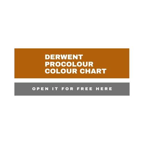 derwent procolour colour chart free - Artnitso.com