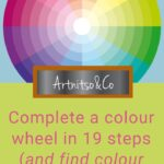 19 Steps to complete a colour wheel pinterest 1