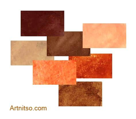 Discontinued Caran d'Ache NeoArt Art Crayons - Red-Orange - Artnitso.com