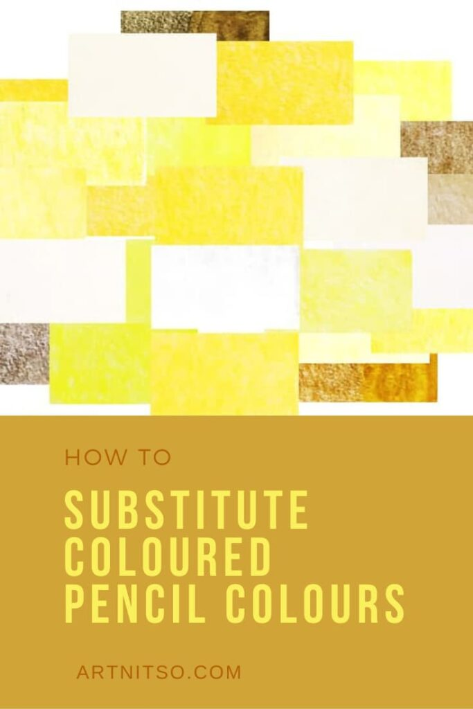 How to substitute coloured pencil colours pinterest 1 - Copy
