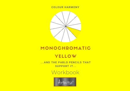 Colour Harmony Number 04 Pablo workbook yellow