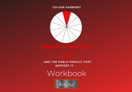 Colour Harmony Number 12 Pablo workbook red